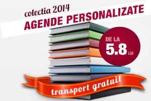 agenda personalizata 2014