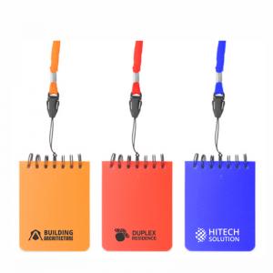 mini notes lanyard personalizat