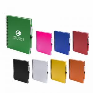 carnetel personalizat cu pix inclus