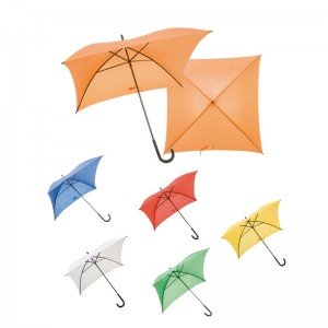 umbrela patrata personalizata