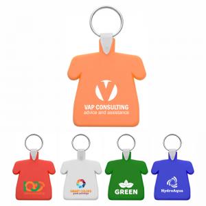 breloc personalizat forma tricou