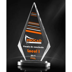 trofeu acril personalizat color