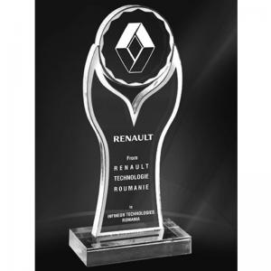 trofeu personalizat din acril