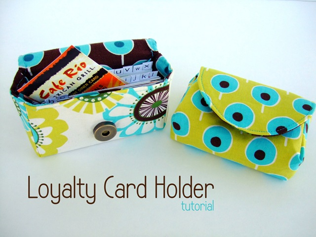 card holder fete tutorial
